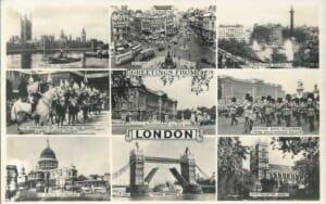 Postal London principio S. XX
