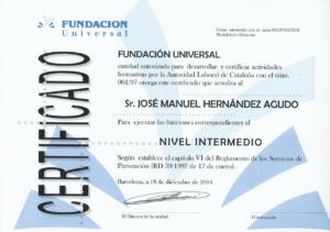 2004 Fundación Universal - Nivel Intermedio PRL