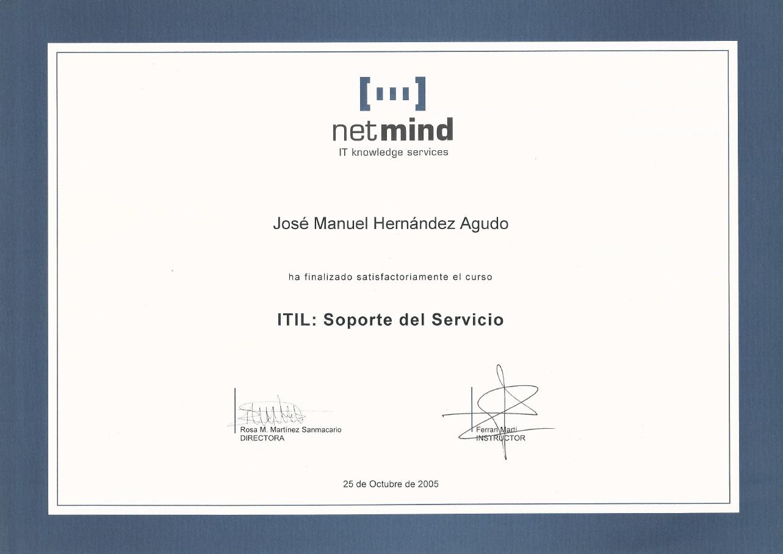 ITIL soporte del servicio