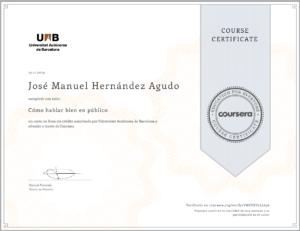 2019 Coursera - Universitat Autònoma de Barcelona - Cómo hablar en público - VW8VKV2LL696