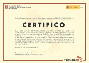 2019 IMAGINA - Analítica Web i Pla de Màrqueting Digital
