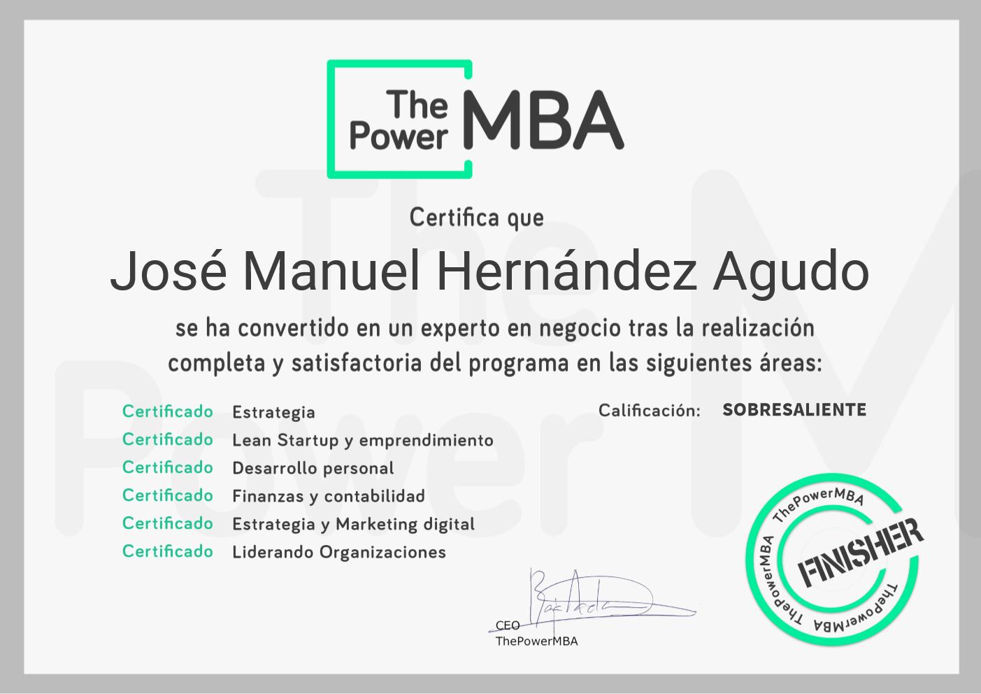 2019 ThePowerMBA