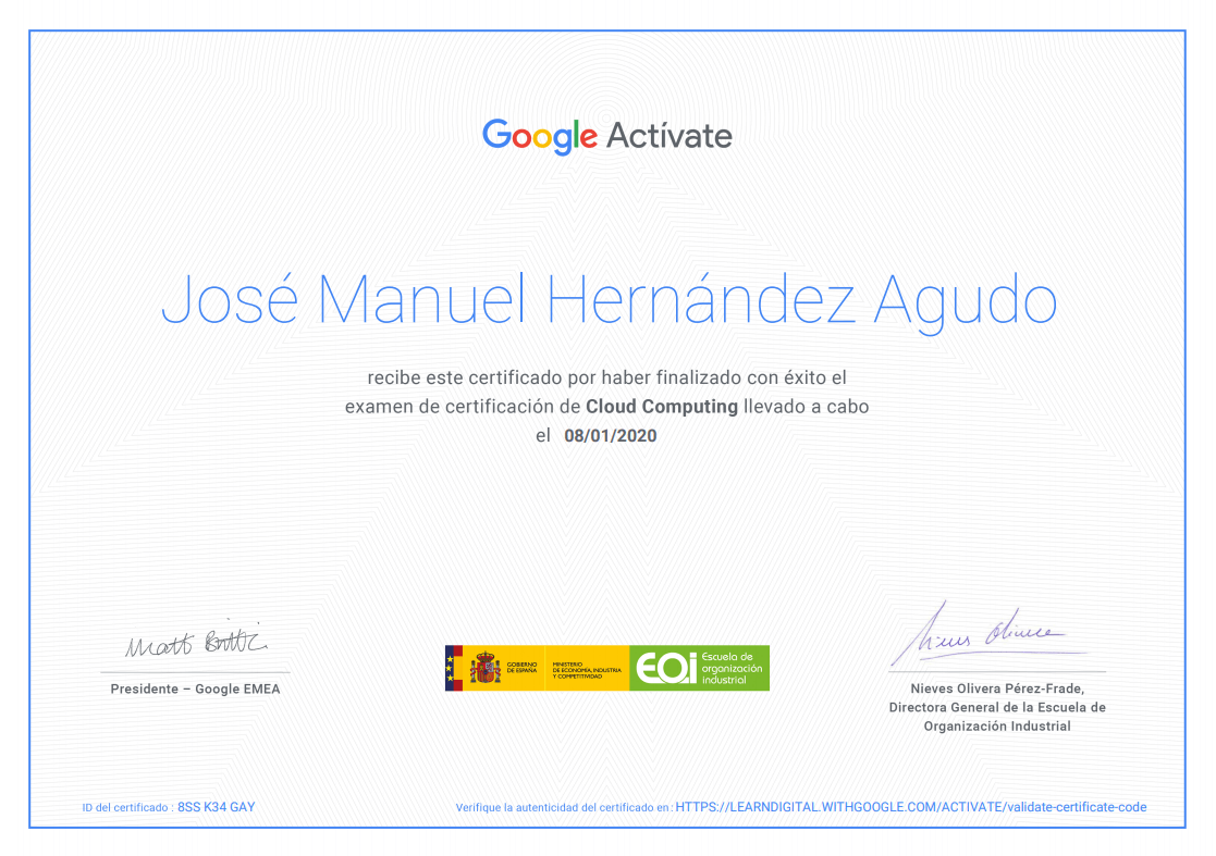 Google - Cloud Computing