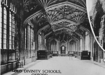 Detalle postal Oxford